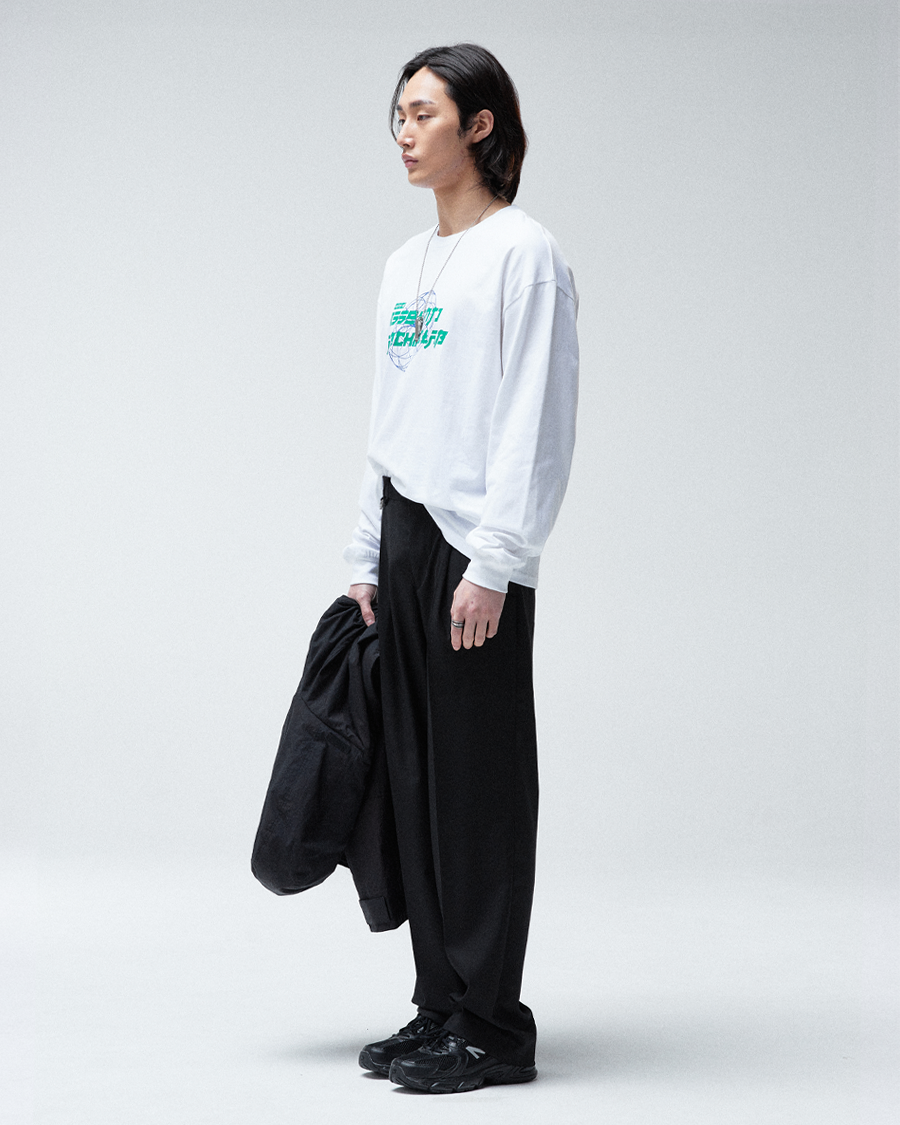 SSOLANT Archive lab 롱 슬리브 (White)